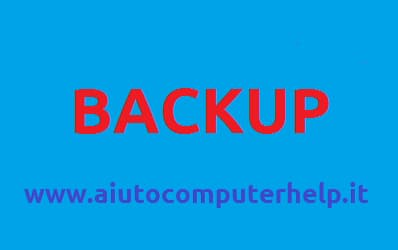 Come fare un backup