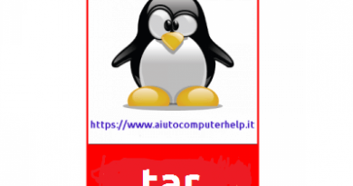 tar :  come ti comprimo in linux ( tar , gzip, bzip2, lzip, lzma …… )