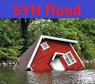 SYN flood