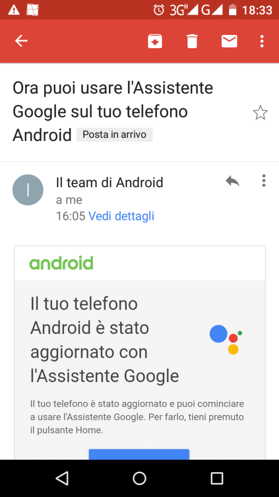 Team Android Assistente Google