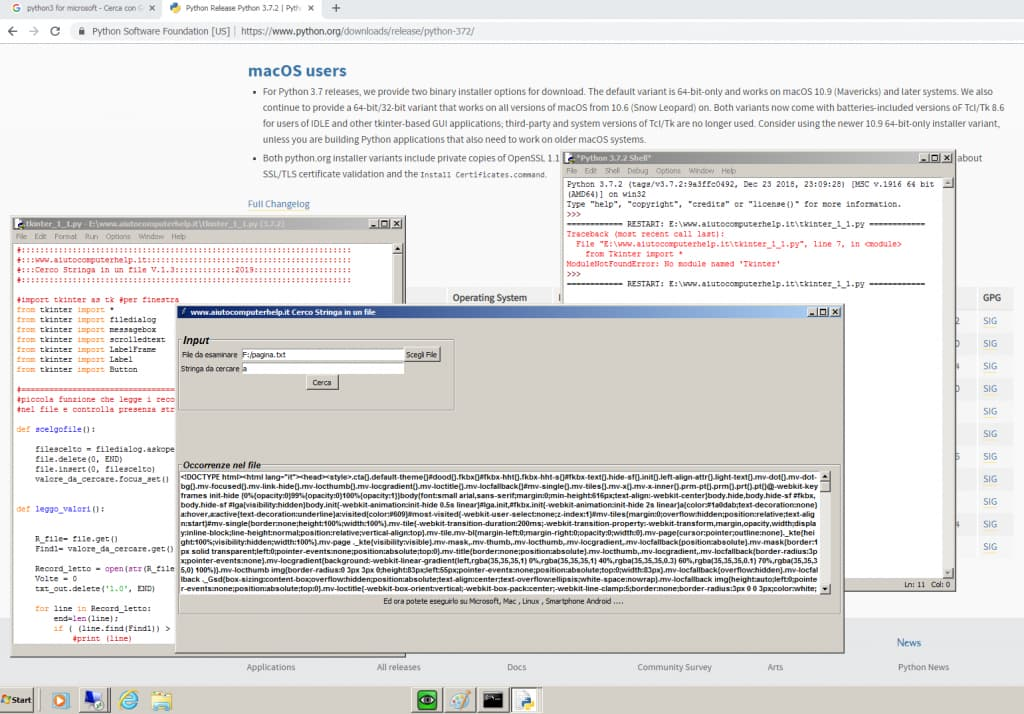 Python & Microsoft