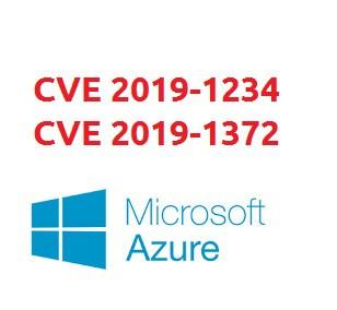 Azure CVE 2019-1234eCVE 2019-1372