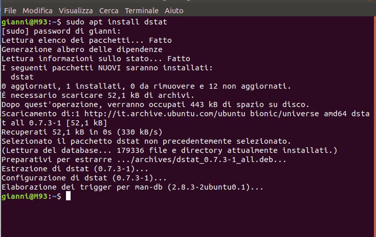 dstat_install