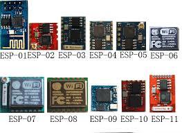 esp8266_modelli