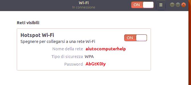06 - hotspot Ubuntu 18