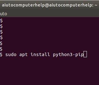 come si installa pip3