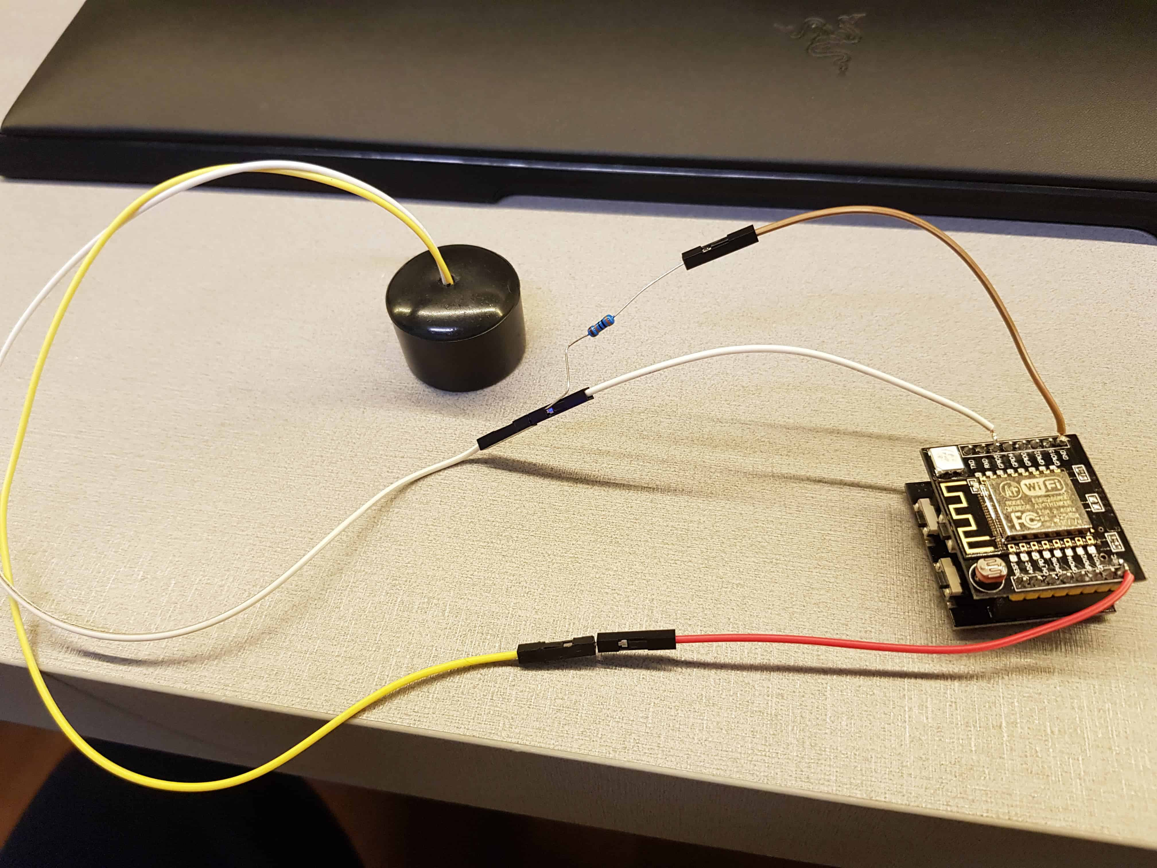 2) Esp8266 - Settare le credenziali del Wi-Fi con la luce